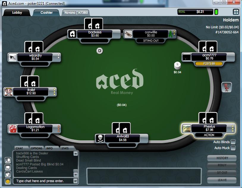 Aced Poker