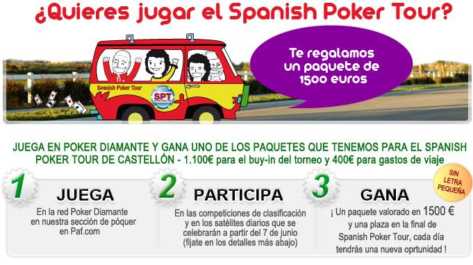 España Poker Tour 2010 Paf